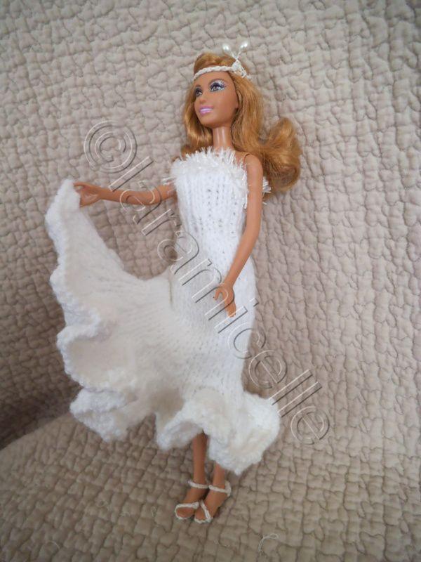 Tuto sandalettes et coiffe pour barbie mari e robe - Tuto dressing ...