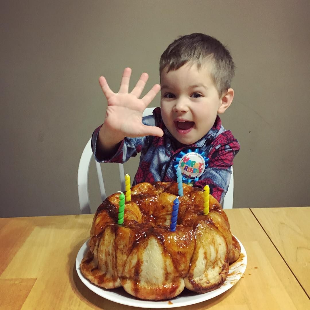 Caleb Is Excited To Be Five Years Old Today Happybirthday Jhousevlogs J House Vlogs Sam And Nia Youtubers