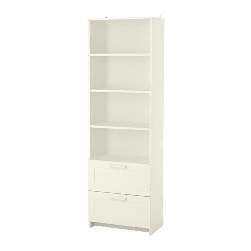 Blanco Brimnes Libreria Librería Ikea En 2019Escritorios 08nNwmv