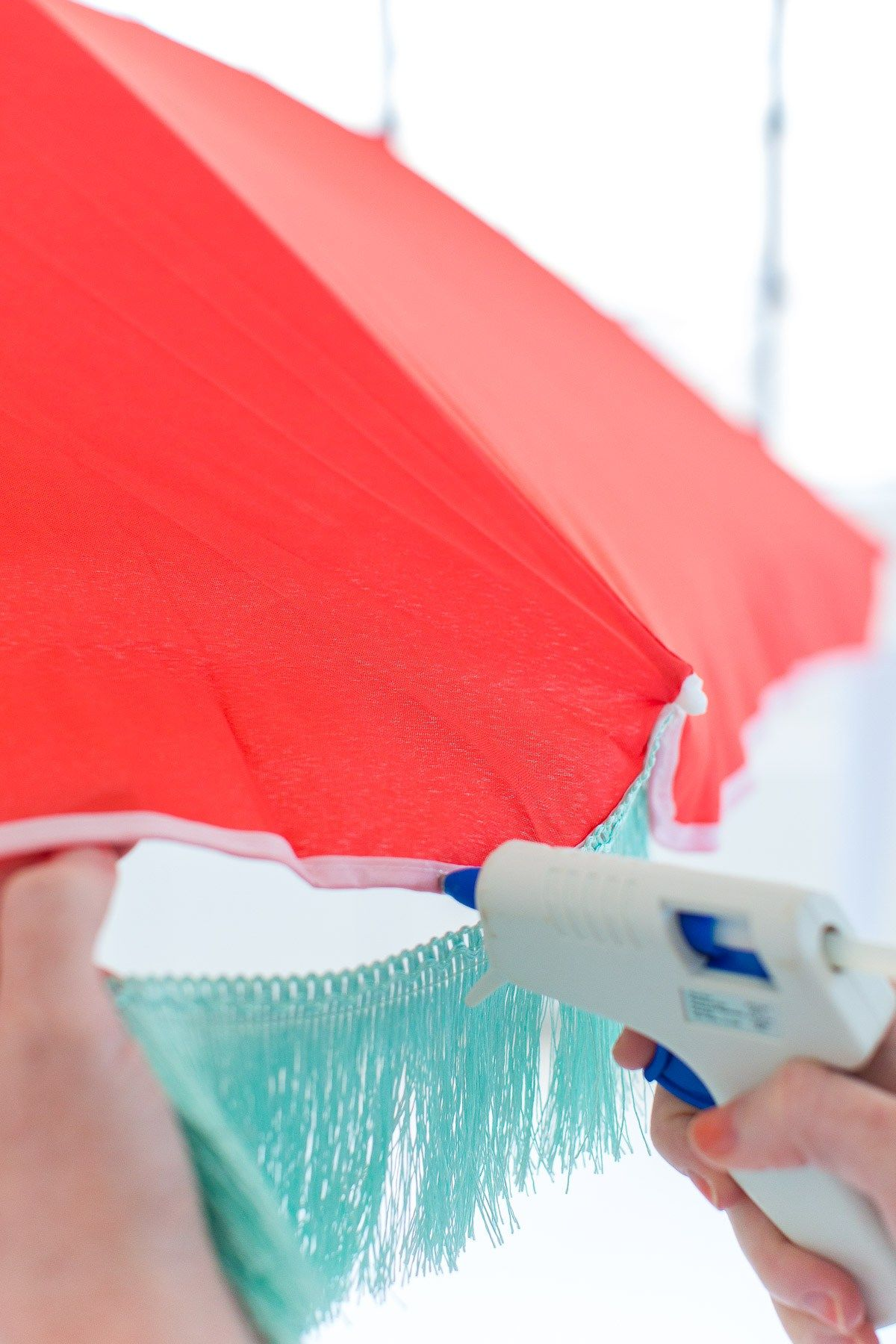 DIY Retro Beach Umbrella