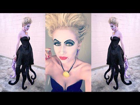 ursula costume halloween 2016 superholly youtube halloween kost me pinterest kost me. Black Bedroom Furniture Sets. Home Design Ideas