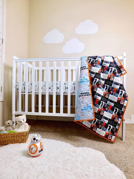 Star Wars Baby Crib Quilt Star Wars Nursery Bedding Star Wars
