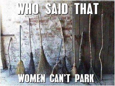 Witch broom jokes