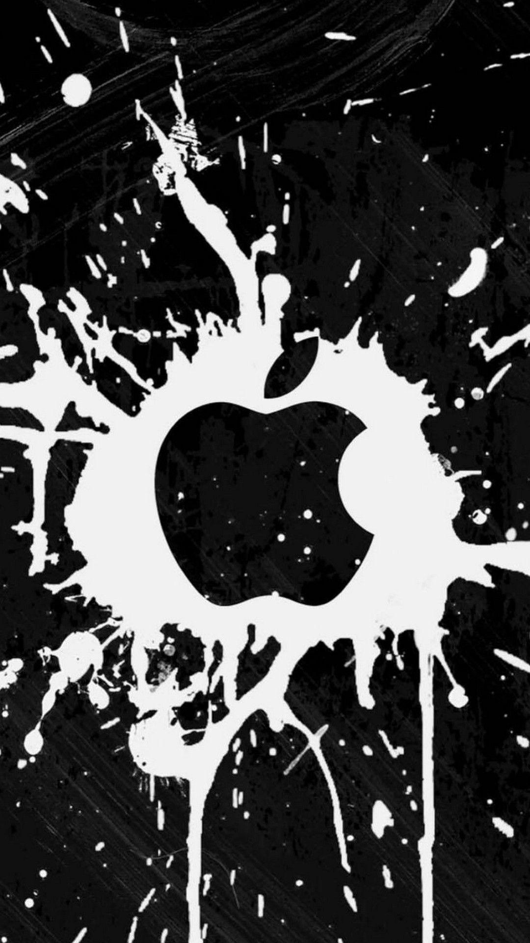 Apple iPhone Wallpaper Black Background (avec images
