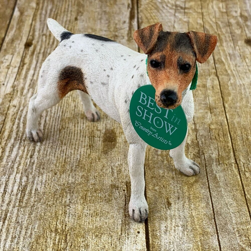 Best In Show Jack Russell Standing Figurine Country