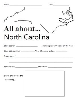 all worksheets north carolina worksheets printable worksheets guide for children and parents. Black Bedroom Furniture Sets. Home Design Ideas