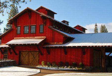 Warehouse W Black Trim Instead Of White Pole Barn Homes