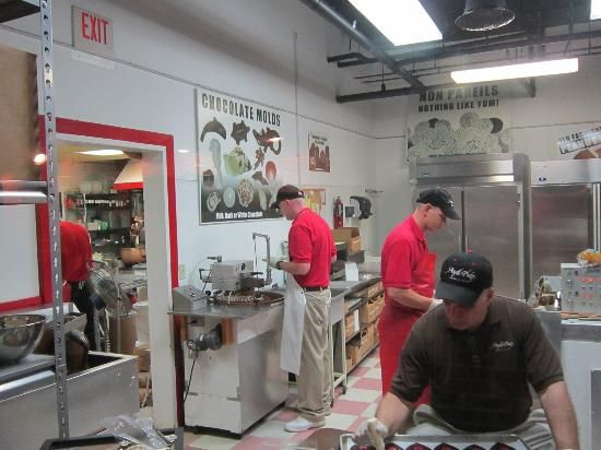 Angell Phelps Chocolate Factory Café In Daytona Beach Florida Offers Free Tours