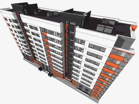 Multi storey residential building modelling in sketchup for Sketchup building