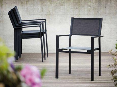 Jan Kurtz Gartenmobel ~ Jan kurtz outdoor stapelsessel cubic schwarz die perfekten