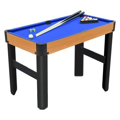 Playcraft Sport Bank Shot 40 In Pool Table With Standard Legs Blue Pspt4002 B Outdoor Pool Table Pool Table Mini Pool Table