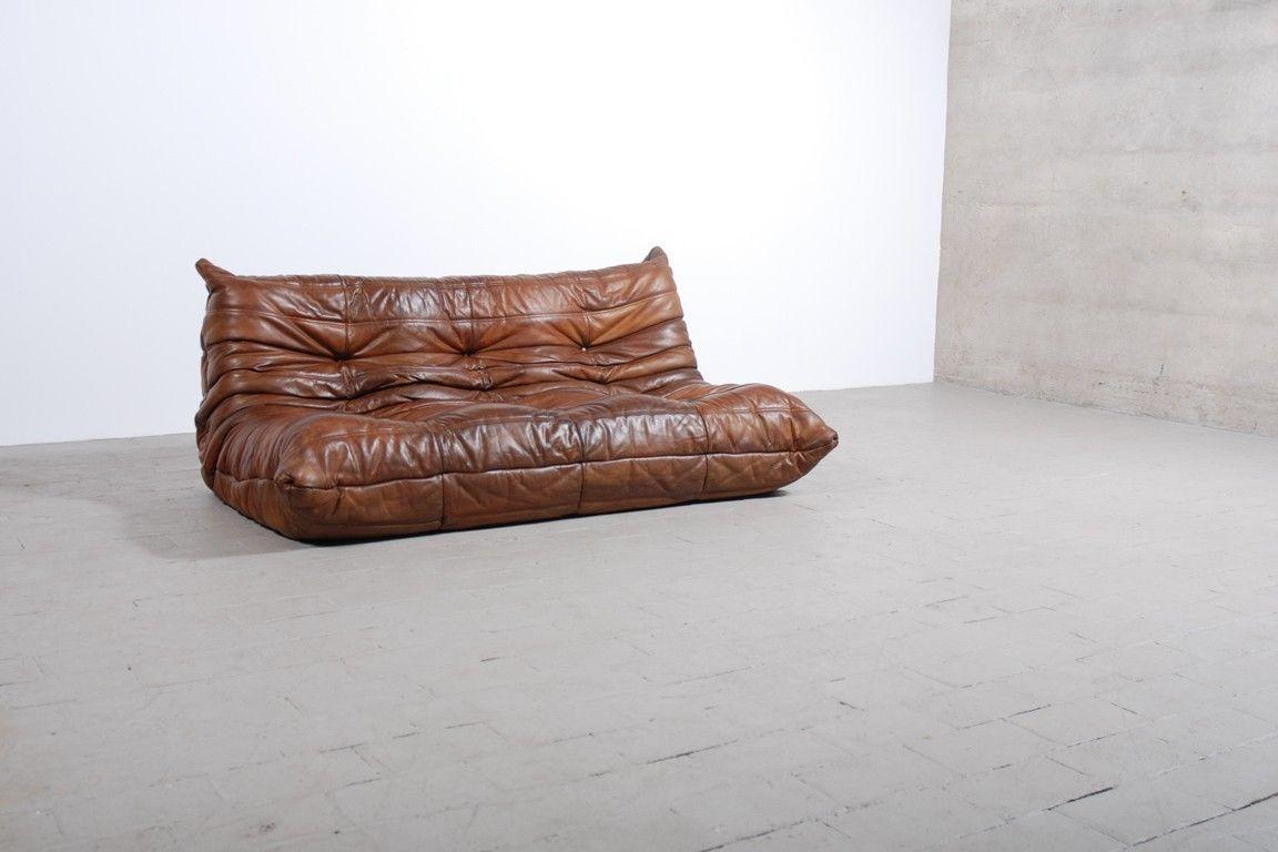 canap togo cuir michel ducaroy ligne roset boutique vintage humble abode pinterest ligne. Black Bedroom Furniture Sets. Home Design Ideas