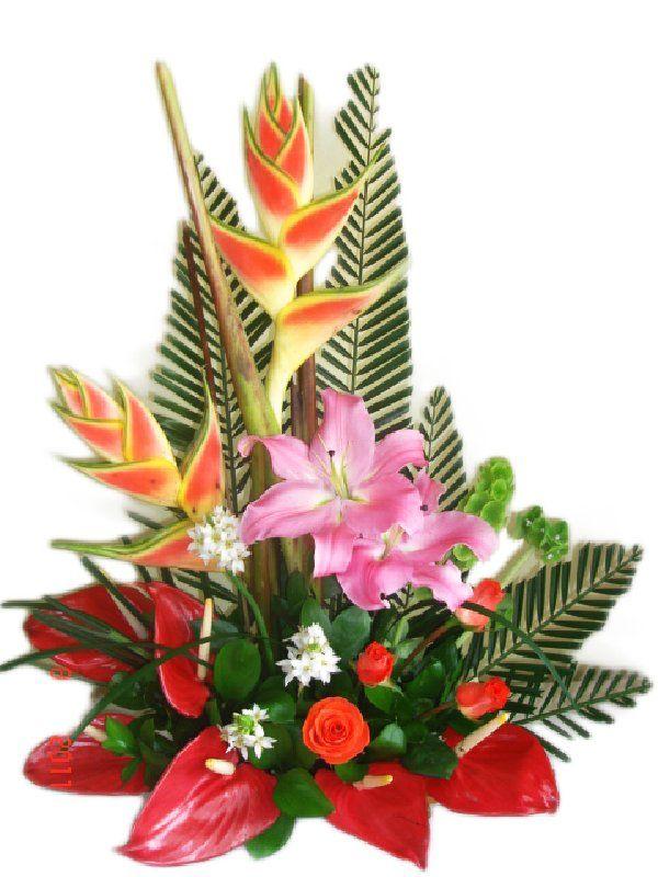 Arreglo Floral Ramo De Flores Para Un Día Especial