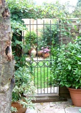 Looking Glass Gates   Garden Mirrors