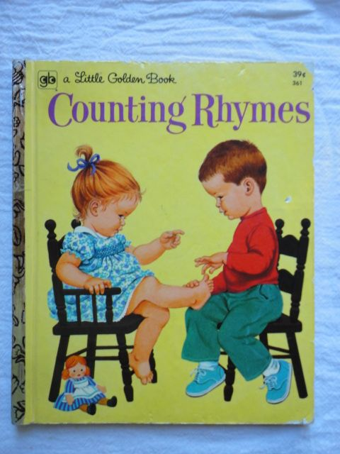 Counting Rhymes - Copyright 1960 - 6th Edition 1972