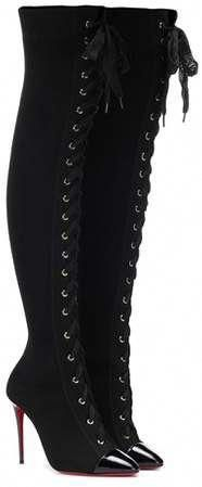 f5053f481c27 Christian Louboutin Frenchie 100 over-the-knee boots  ChristianLouboutin