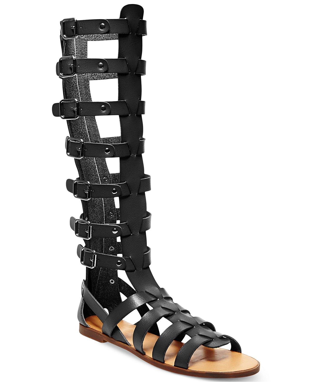 4221f2eb972 Madden Girl Penna Tall Shaft Gladiator Sandals - Juniors - Macy's ...