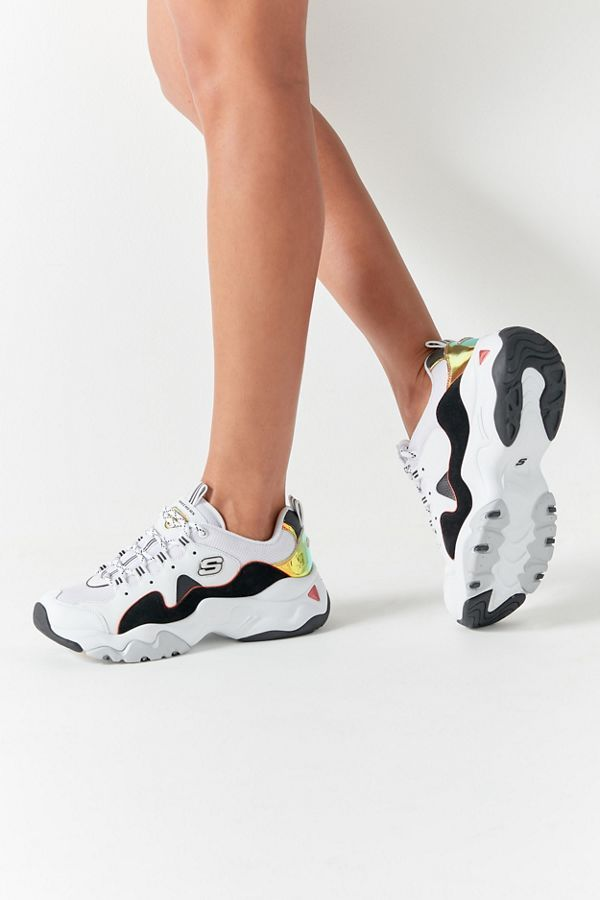 Skechers Skechers X One Piece D'Lites 3 Women's Sneaker White 5 at Urban Outfitters from Urban Outfitters (US) | Real Simple