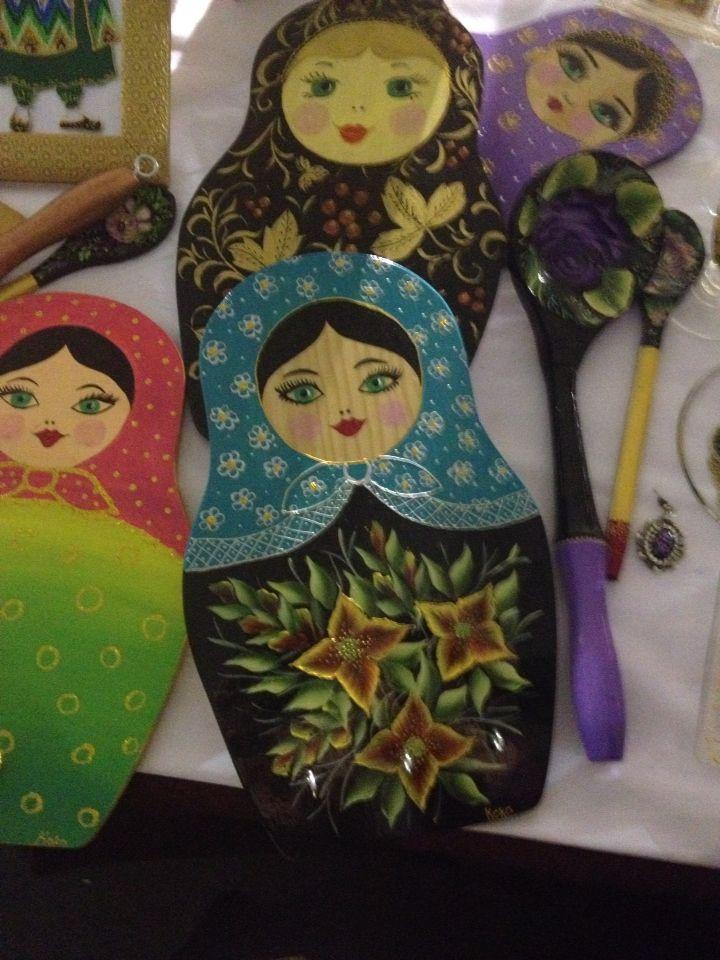 Craft fair The Hilton Izerbyjan table
