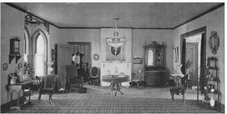 Prosperous Farmhouse Parlor 1900 With Images Victorian