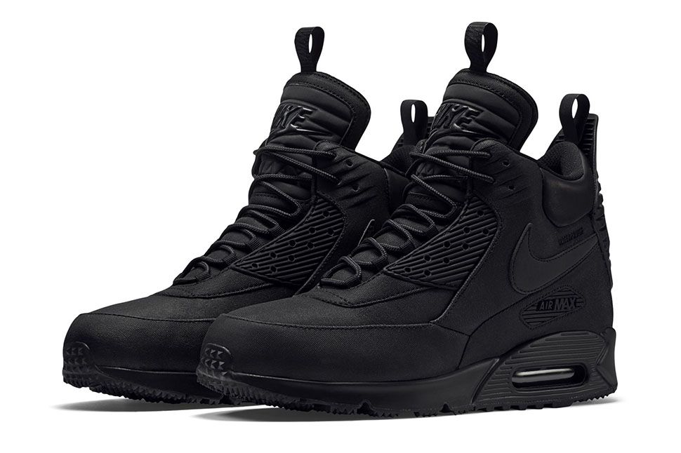 brand new 4c11e c8bea After debuting last year, the Nike Air Max 90 Winterized Sneakerboot is  ready for winter 2015. High cut and traction soled, the sneaker dropped in  a series