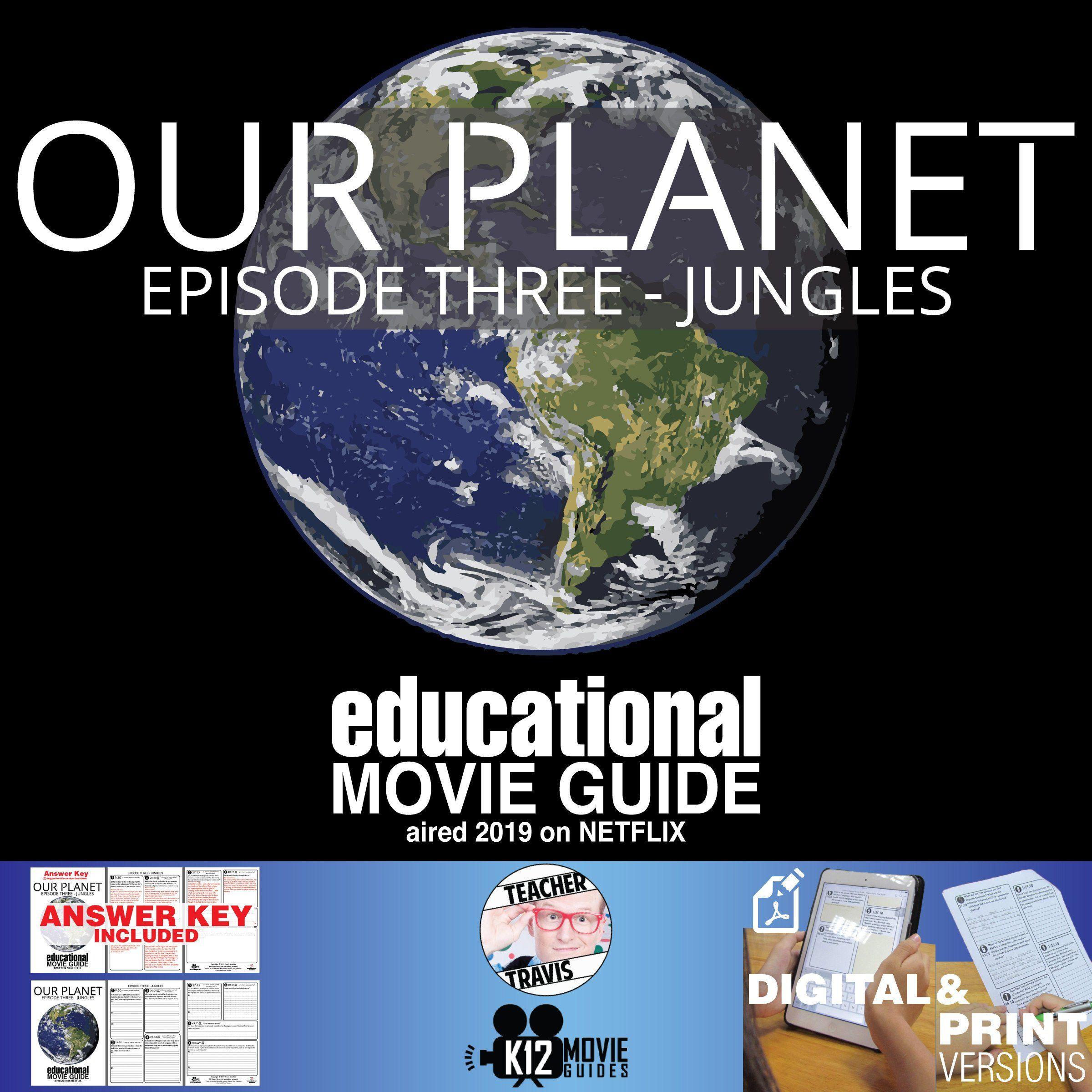 Planet Earth Jungles Worksheet Answers Our Planet Documentary Series E03 Jungles G 2019 Movie Guide Planet Movie Documentaries