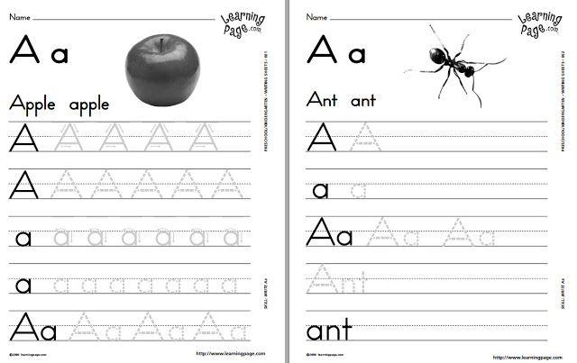 شيتات تعلم كتابة الحروف والارقام بالكتابة المنقطة والصور والاشكال Teaching Kids Letters Teaching