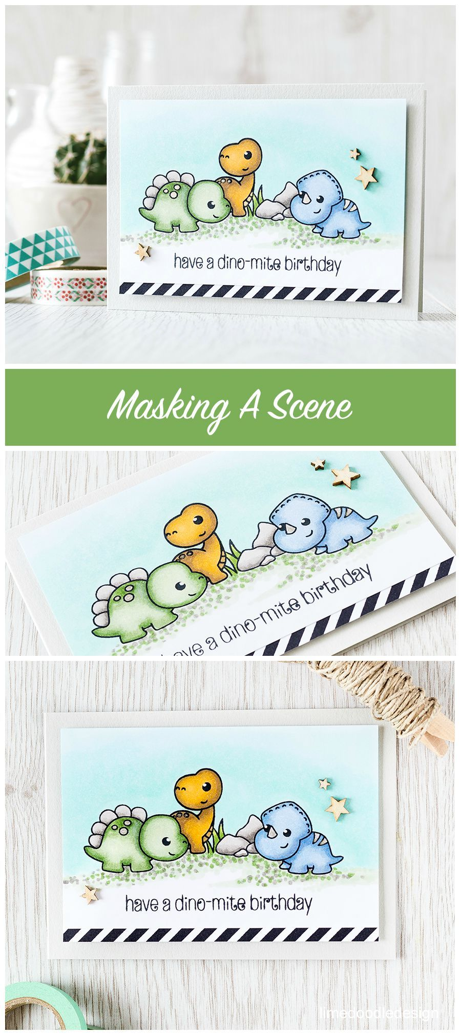Masking a scene is easy when you have cute critters with simple outlines making creating the mask a cinch! Find out more by clicking the following link: http://limedoodledesign.com/2015/08/masking-a-scene/
