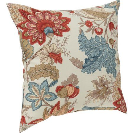 Mainstays Morganton Decorative Pillow Leaf Leaves Pillows And Room Mesmerizing Decorative Pillows At Walmart