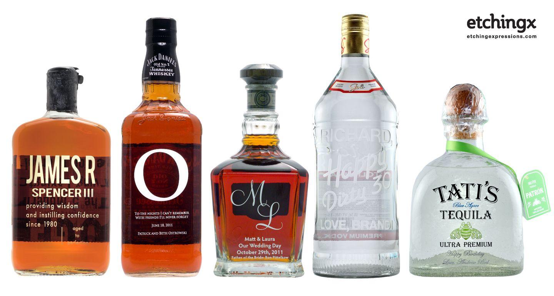 Personalized scotch bottle   Gift Ideas   Pinterest   Liquor bottles ...