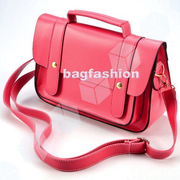 S Leather Shoulder Bag Designer Handbags Fashion Vintage Retro School Bags Satchel Messenger Cross 3741 In From Luggage
