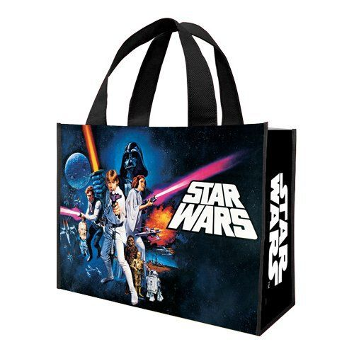 Vandor 99073 Star Wars A new Hope Large Recycled Shopper Tote Multicolor