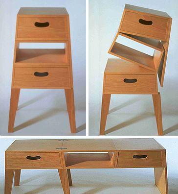 Superb Shin + Tomoko Azumi   Table U003d Chest, 1995 Great Pictures