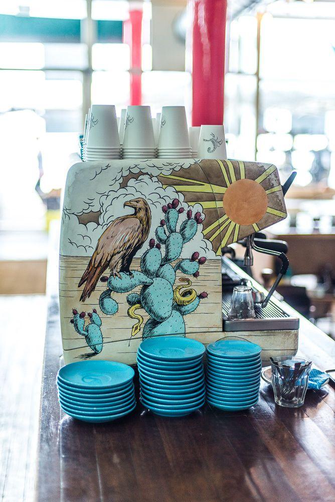 Prufrock Coffee - mondomulia | Coffee shop design, Coffee ...