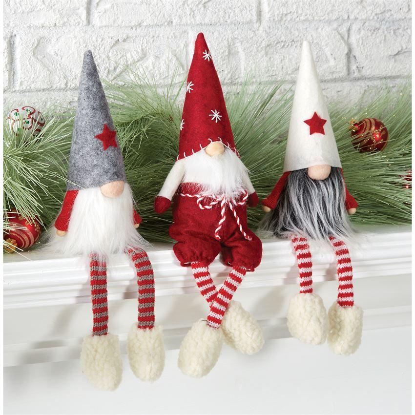 "Christmas house Elves plush 14/"" boy girl crafts stocking stuffer your choice NWT"