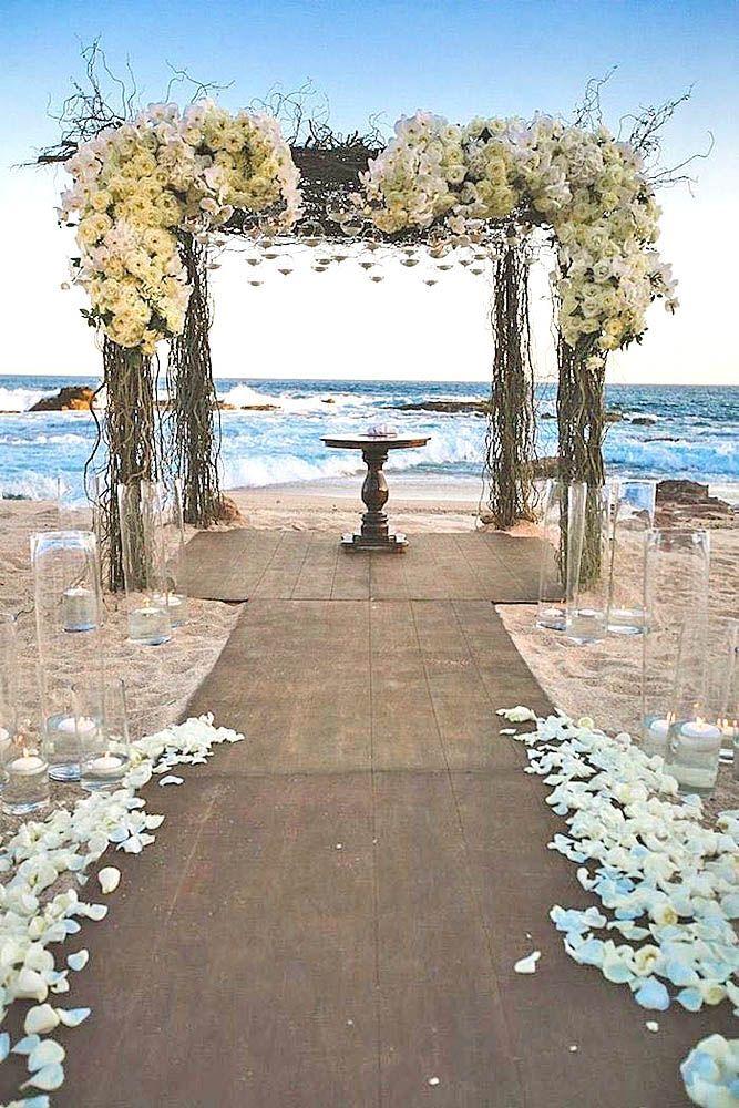 39 Beach Wedding Decoration Ideas Wedding beach