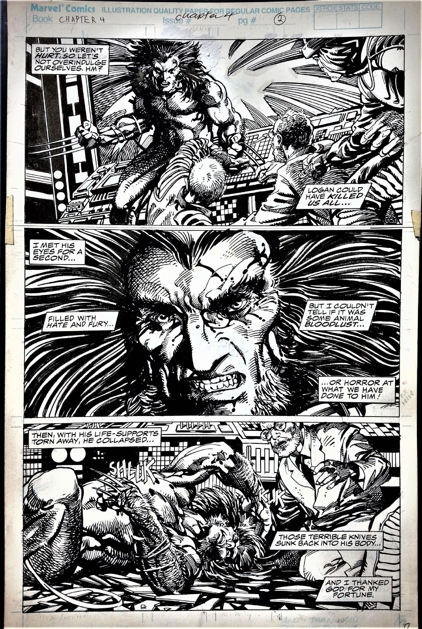 Marvel Comics Presents - Weapon X #75 page 2 - Wolverine by Barry ...
