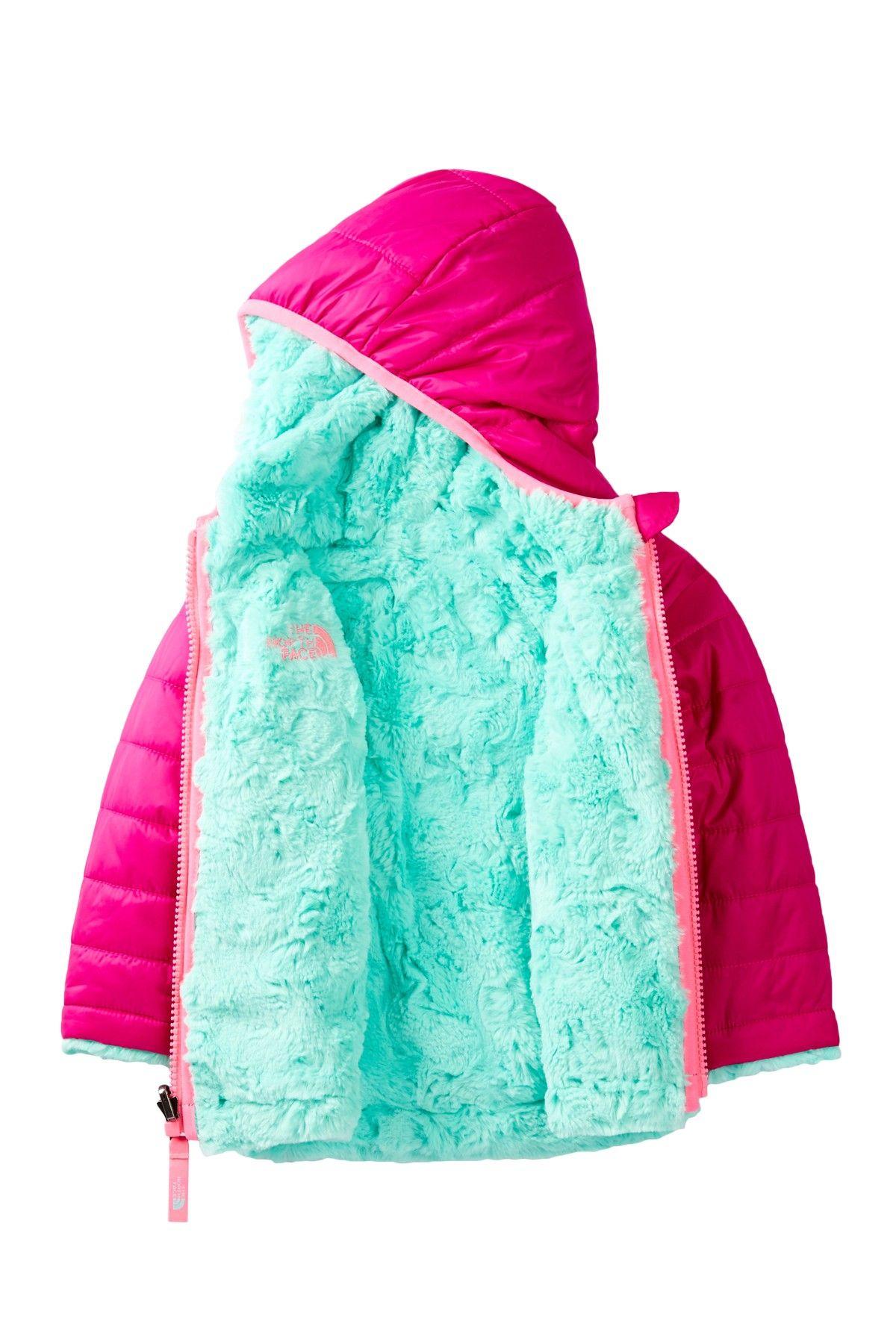 54fda1b472a6 Reversible Swirl Hooded Jacket (Baby Girls)