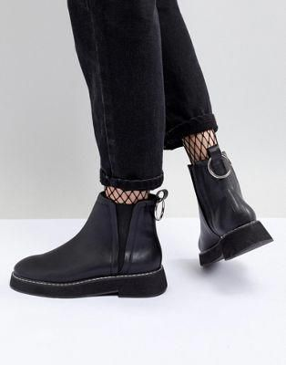 17fbf27ecffb Shop ASOS DESIGN Aria Chunky Chelsea Ankle Boots at ASOS. Discover fashion  online.  womensfashionboots