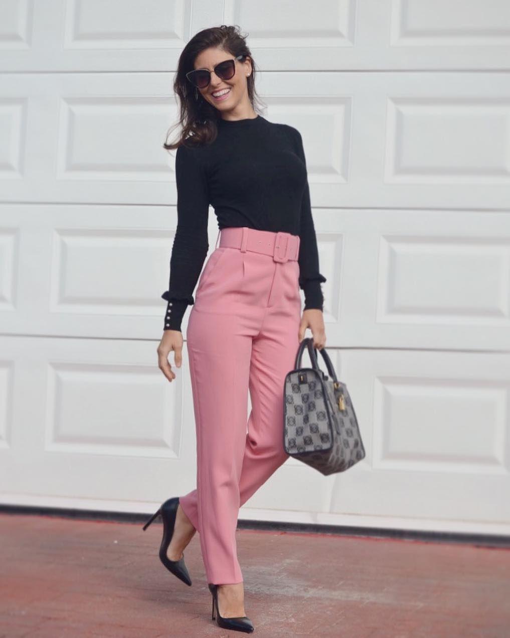 Estos Son Los Pantalones De Zara Que Estan Arrasando En Instagram Pantalones De Moda Mujer Pantalones De Moda Pantalones De Vestir Mujer