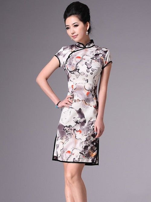482e61bc4540 Short Qipao / Cheongsam / Traditional Chinese Dress | Qipao ...