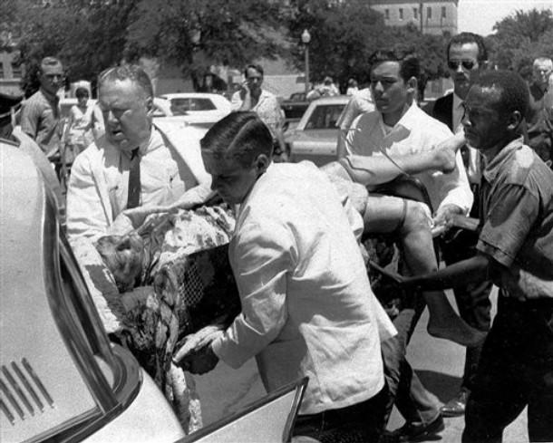 CHARLES WHITMAN'S CLOCK TOWER SHOOTING SPREE 1966