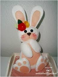 decoração de páscoa em feltro - Pesquisa Google