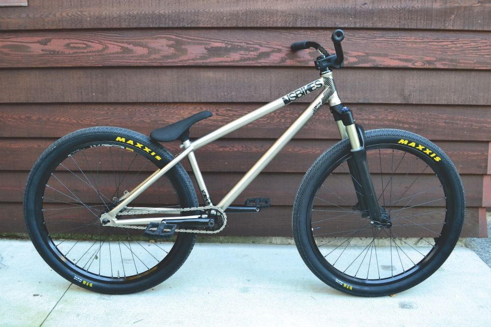 This is what a 100% dialed NS Bikes Suburban looks like. Owner Jack ...