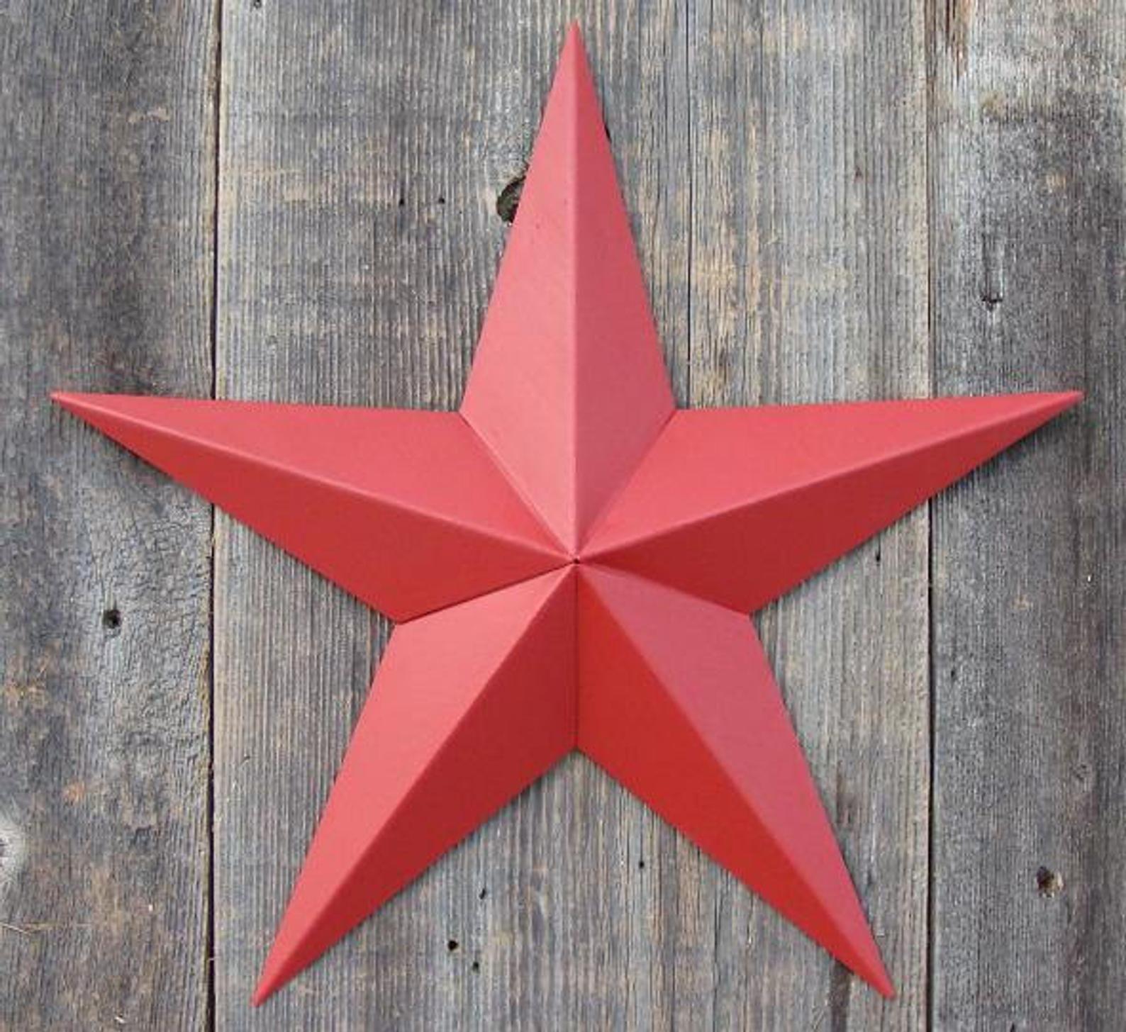 "Rustic Primitive RUSTY Galvanized Tin 12/"" Barn Star Country Home Farmhouse charm"