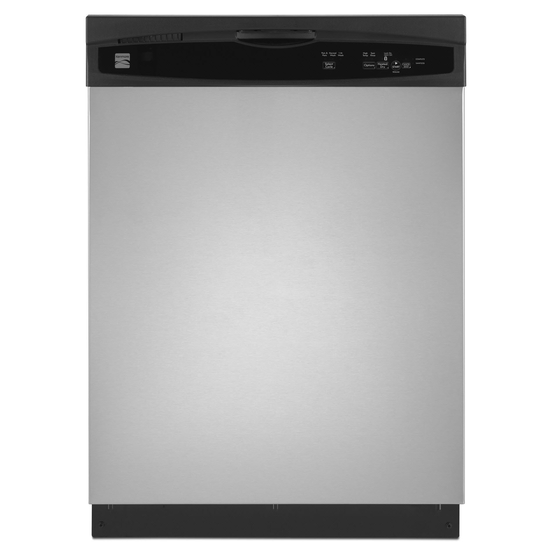 "Kenmore 24"" BuiltIn Dishwasher Stainless Steel ENERGY"