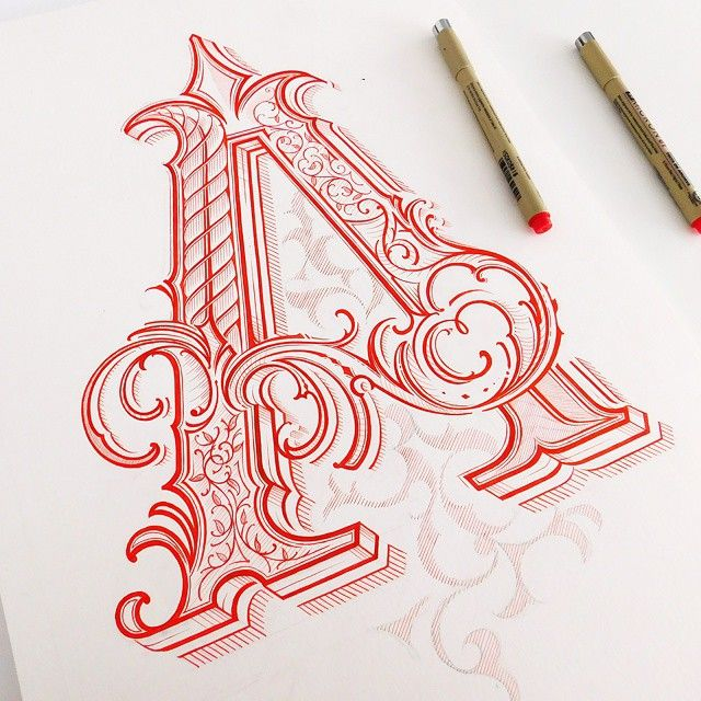 The 25+ Best Drawing Letters Ideas On Pinterest