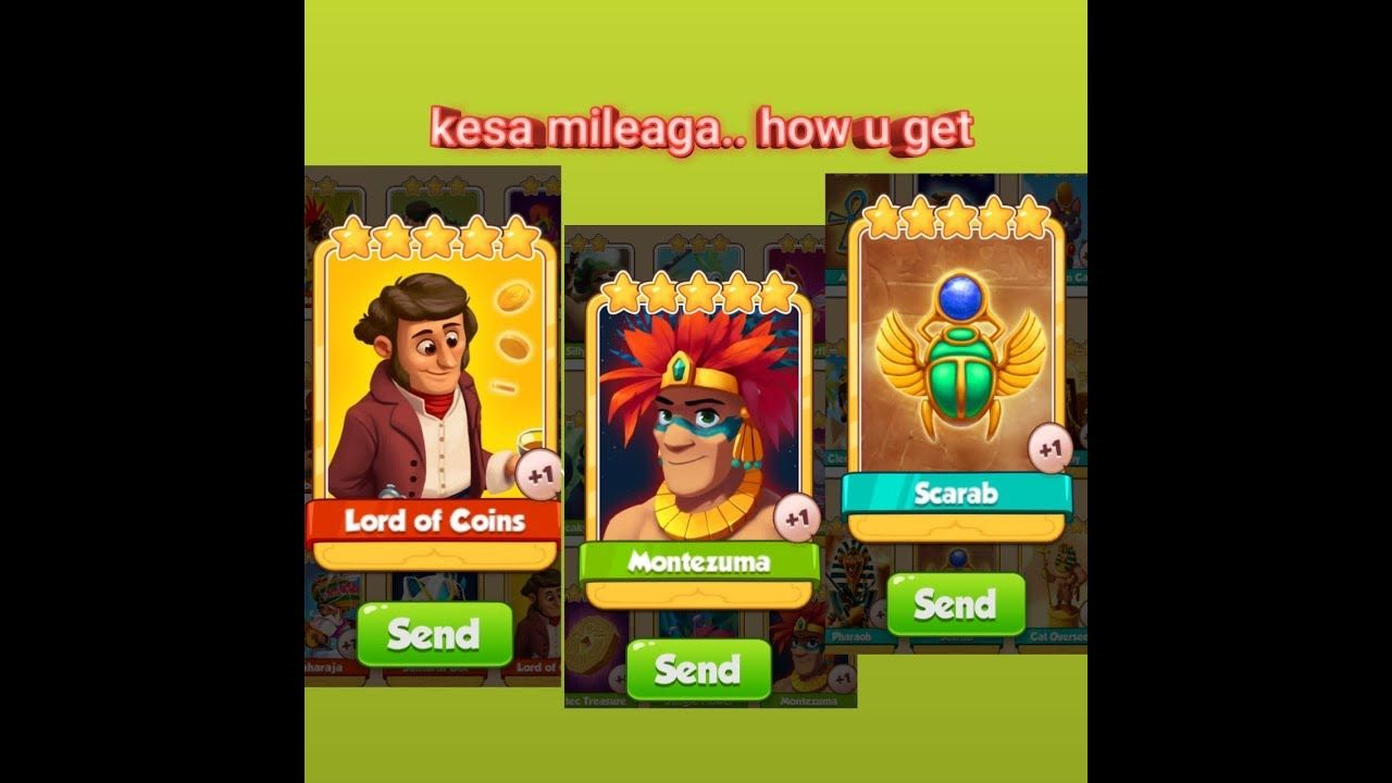 How you Get RaRe golden cards of 5000 spins set in coin