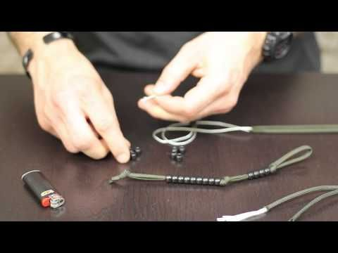 How To Make Your Own Paracord Pace Counter Survival Paracord