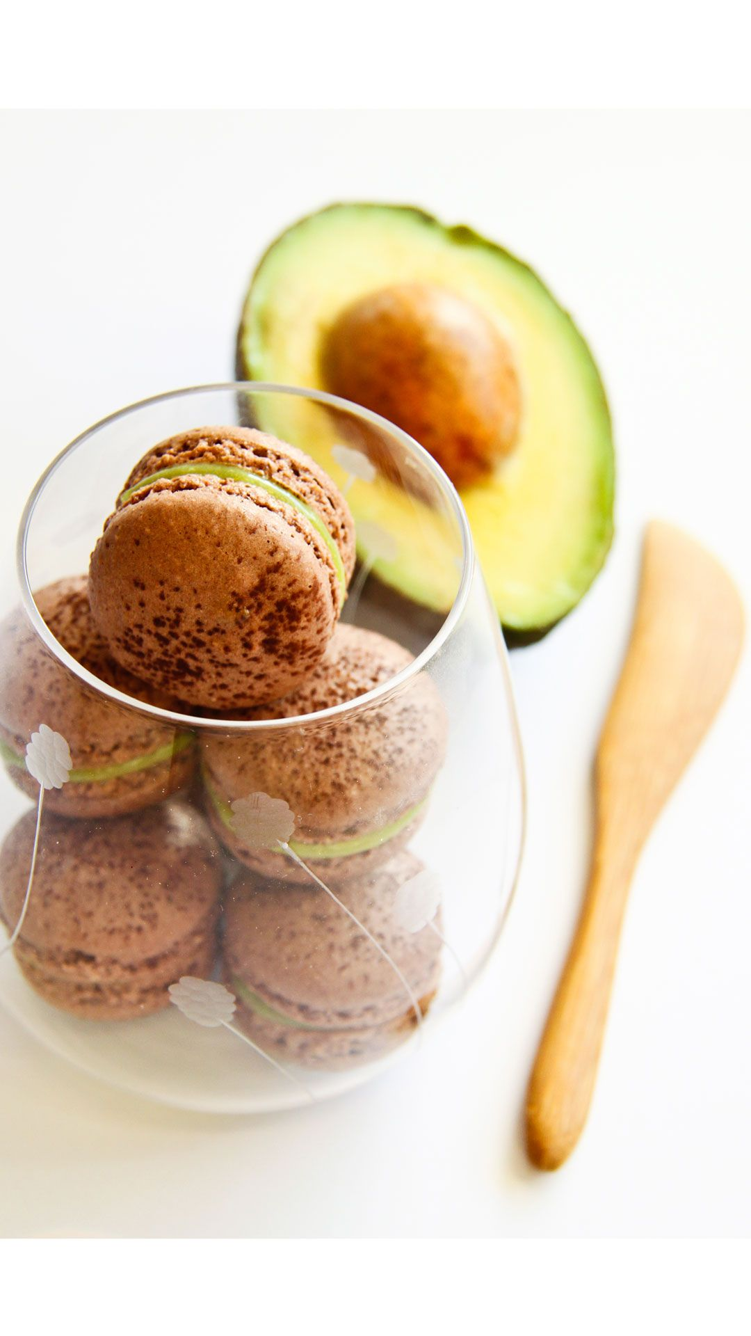 The popular French sweets have finally become a thing on our shores, so it's time to make 'em even better. The chocolate-flavored meringue and avocado filling in these macaroons complement each other perfectly. Get the recipe at raspberricupcakes.com.   - Redbook.com